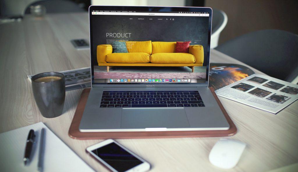 criar novo site